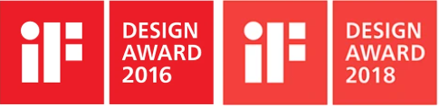 iF Design Award 2016 and 2018