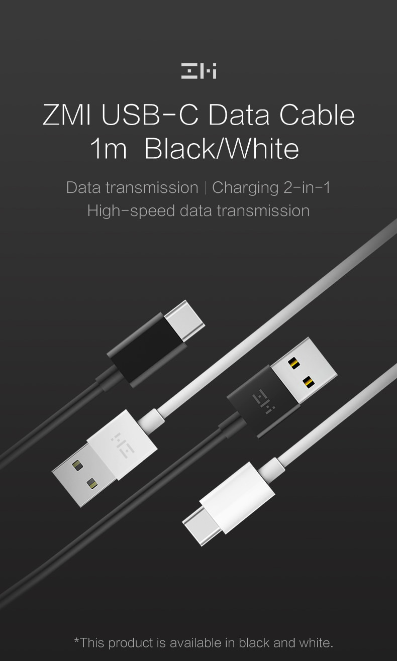 ZMI 3A USB Type-A to Type-C Cable​