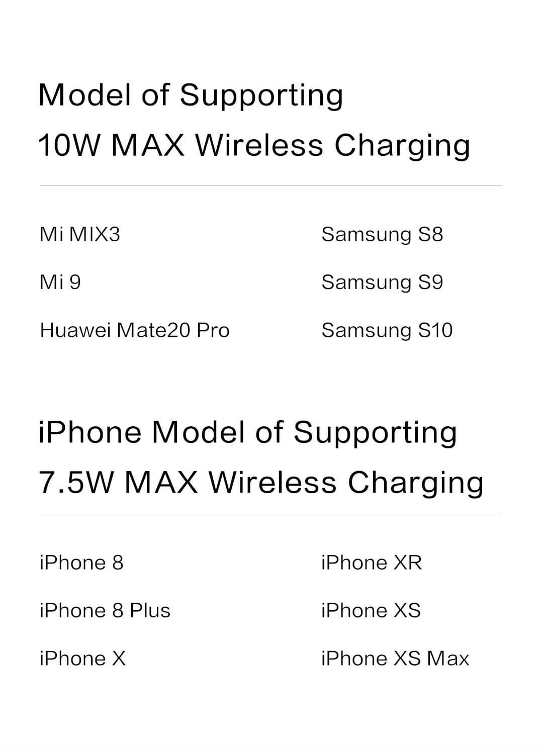 ZMI LevPower M10 USB-C Power Bank, Qi Certified Wireless Charger, Apple MFi Certified, USB PD, Lightning Port Input
