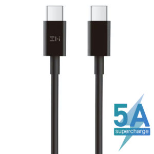 ZMI 5A 100W USB Type-C to Type-C Cable - Black